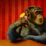 Monkey Bars...she Said... Art Print