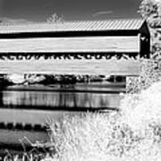 Mono Bridge Art Print