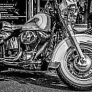 Mono Harley Art Print