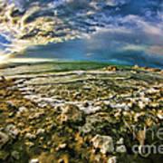 Mono Lake Tufa Peaceful View Art Print