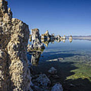 Mono Lake Tufas 3 Art Print
