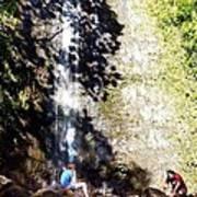 Monoa Waterfall  Art Print