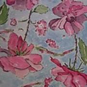 Monochromatic Roses Art Print