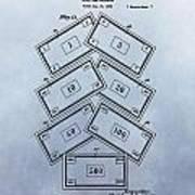 Monopoly Money Patent Art Print