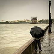 Monsoon In Mumbai Art Print