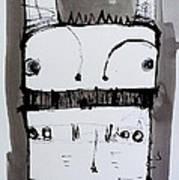 Monstra No. 1 Art Print by Mark M  Mellon