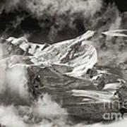 Mont Blanc Group Art Print