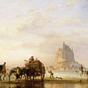 Mont St Michel Art Print