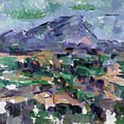 Montagne Sainte-victoire Art Print