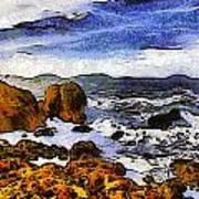 Montana Da Oro San Luis Obispo State Park Art Print