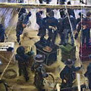Montana Justice   January 14 1864 Art Print