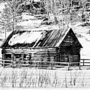 Montana Mountain View Art Print