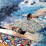 Montana Rocks Art Print