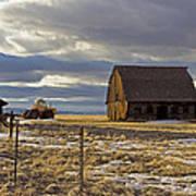 Montana Rural Scenery Art Print by Dana Moyer