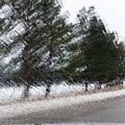Montana Weather Report Art Print