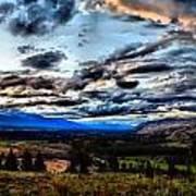 Montanta Sunset Art Print