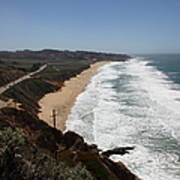 Montara State Beach Pacific Coast Highway California 5d22624 Art Print by Wingsdomain Art and Photography