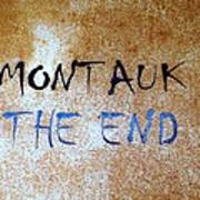 Montauk-the End Art Print