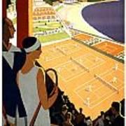 Monte-carlo - Travel Poster For Plm - 1930 Art Print