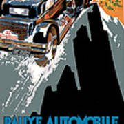 Monte Carlo - Vintage Poster Art Print