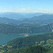 Monte Generoso Svizzera Art Print