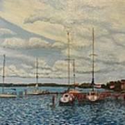 Monteray Bay Art Print