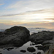 Monterey Bay Coast Art Print