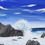 Monterey Bay Art Print