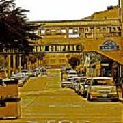Monterey Cannery Row Company Art Print