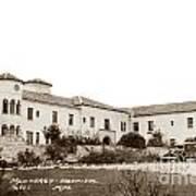 Monterey  Hospital At 576 Hartnell Street Circa 1939 Art Print