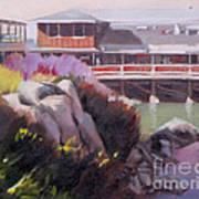 Monterey Fisherman's Wharf Art Print