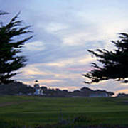Monterey Golf Course Art Print