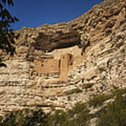 Montezuma Castle National Monument Az Dsc09056 Art Print