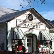 Montgomery County Market Art Print