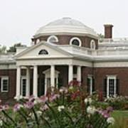 Monticello Estate Art Print