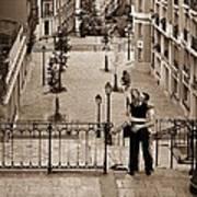 Montmartre Moment Art Print