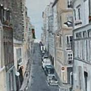 Montmartre Paris France Art Print