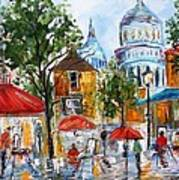 Montmartre Paris Art Print
