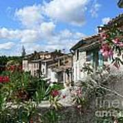 French Hilltop Terraces Art Print by France  Art