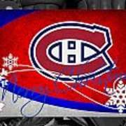 Montreal Canadiens Christmas Art Print