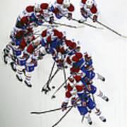 Montreal Canadiens V New Jersey Devils Art Print