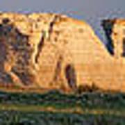 Monument Rocks Panorama Art Print
