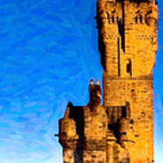 Monument To The Legendary William Wallace Art Print