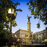 Monument To The Marquis Of Comillas Cadiz Spain Art Print