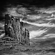 Monument Valley 011 Art Print