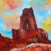 Monument Valley Standing Tall Art Print