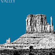 Monument Valley - Steel Art Print