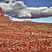 Monument Valley Ut 1 Art Print