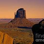 Monument Valley -utah V15 Art Print