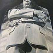 Monumental King Art Print